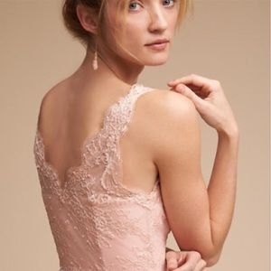Anthro BHLDN Hitherto Samantha pink dress 8